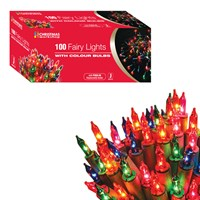 100 Shadeless Multi Colour Fairy Lights