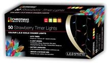 50 LED B/O Strawberry Chaser - Multi Col-Timer