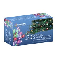 120 Multi Colour LED String Lights