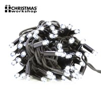 100 LED Connectable Lights - White
