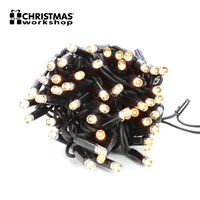 100 LED Connectable Lights - Warm White