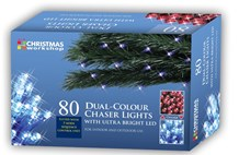 80 LED 4 Colour Chaser Lights
