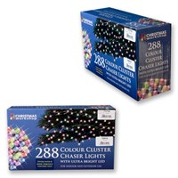 288 LED Multi-Colour Chaser Cluster Light