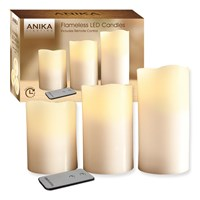 3pc Flameless Remote Control LED Candles