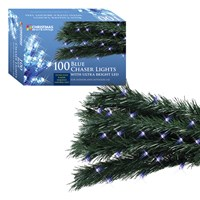 100 LED Chaser Lights - Blue