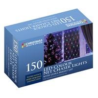 150 LED Net Chaser Light- Multi Coloured