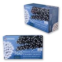 960 LED White Chaser Cluster Light