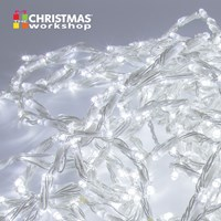 240 LED Waterflow Curtain Chaser Lights - White