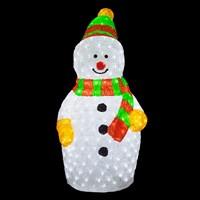 90cm Acrylic Snowman