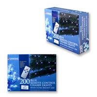 200 LED R/C Chaser Lights W/ Timer - Blue