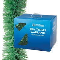 10M Matt Green Tinsel Garland