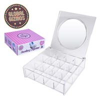 Cosmetic Organiser With Mirror