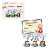 Trophies & Certificates Set