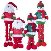 """38"""" Extendable Santa/Snowman"""
