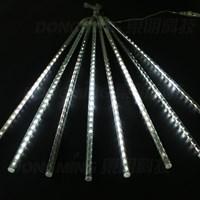 8PC 50cm Meteor Shower String Light - White