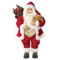 30cm Red Standing Santa