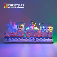 Xmas Train with Flickering LED and Musicals