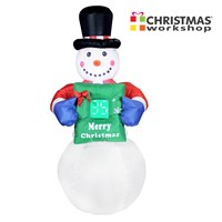Inflatable Snowman Decoration. 1.8M Height