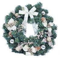 "18"" Gold Poinsettia Wreath"