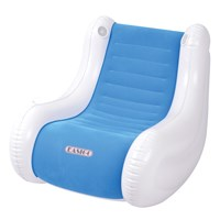 Rocking Chair With Speaker-Blue