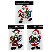Santa Window Gel Stickers