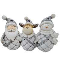 3 Asst Silver Tealight Holders