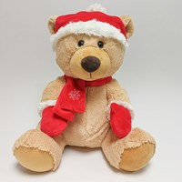 35cm Traditional Festive Bear