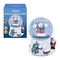 Wind up Musical Snowman Snowglobe