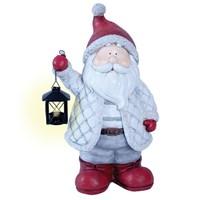 50cm Standing Santa With Lantern