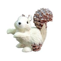 18cm Frosted Glitter Squirrel