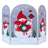 70cm Snowman Fire Guard