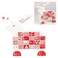 Wooden Advent Calendar- Reindeer