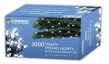 1000 LED White Chaser Lights