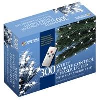 300 LED R/C Chaser Lights W/Timer - W.White