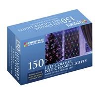 150 LED Net Chaser Light-W.White