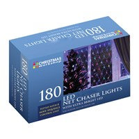 180 LED Net Chaser Light - Warm White