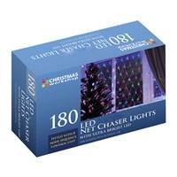 180 LED Net Chaser Light-W.White
