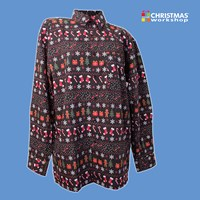Xmas Ginger and Tree Long Sleeve Shirt