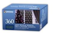 360 LED Net Chaser Lights - Warm White