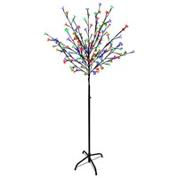 1.2m  Blossom Tree - 100 LED Multi-Coloured