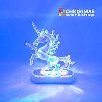 LED Colour Changing Unicorn Ornament
