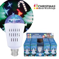 Christmas LED Projector Bulb - CDU