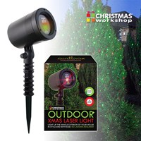 Multi-Function Outdoor Laser Light - Red/Green