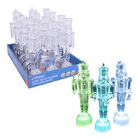 LED Colour Changing Nutcrackers- 3 Assorted
