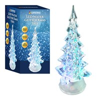 Colour Changing LED Water Xmas Tree