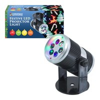 Xmas LED Projector Light- 4x 1W LED