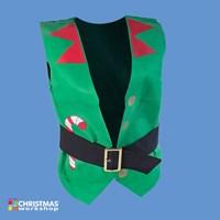 Xmas Elf Design Waistcoat