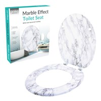 Marble Effect Toilet Seat