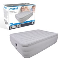 Deluxe High Raised Airbed with Built-in Pump