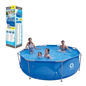 Round Super Steel Pool  - 300 x76cm